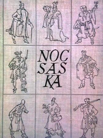 Okładka książki Noc saska