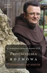 Okładka książki Przyjacielska rozmowa. O modlitwie raz jeszcze