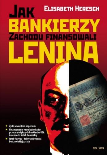 Okładka książki Jak bankierzy zachodu finansowali Lenina
