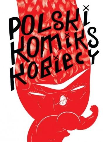 Okładka książki Polski komiks kobiecy
