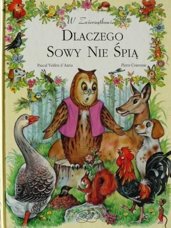 Okładka książki Dlaczego sowy nie śpią