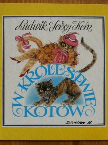 Okładka książki W Królestwie Kotów