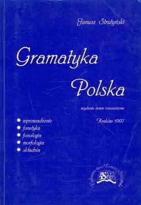Okładka książki Gramatyka polska