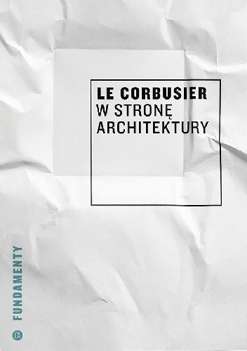 Okładka książki W stronę architektury