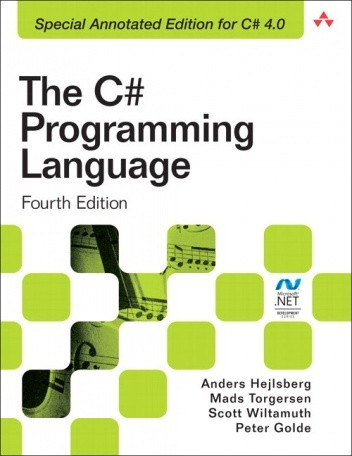 Okładka książki The C# Programming Language (Covering C# 4.0) (4th Edition)