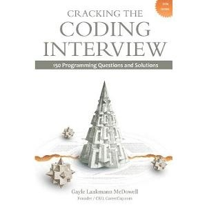 Okładka książki Cracking the Coding Interview: 150 Programming Questions and Solutions