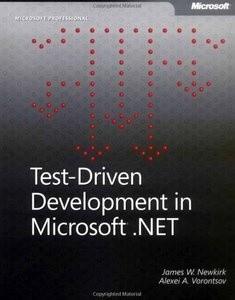 Okładka książki Test-Driven Development in Microsoft .NET