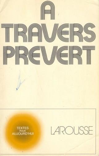 Okładka książki A travers Prévert