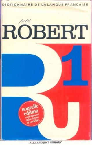 Okładka książki Le Petit Robert