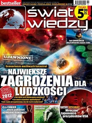Okładka książki Świat Wiedzy (11/2012)