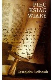 Okładka książki Pięć ksiąg wiary