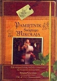 Okładka książki Pamiętnik Świętego Mikołaja