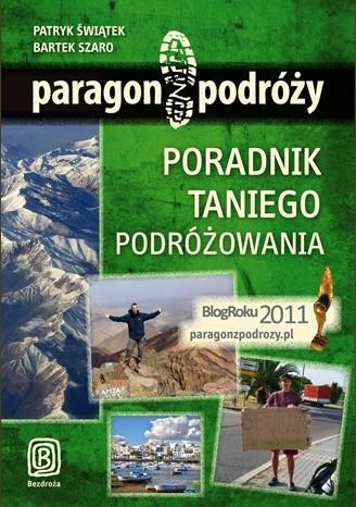 Okładka książki Paragon z podróży. Poradnik taniego podróżowania