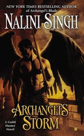 Okładka książki Archangel's Storm