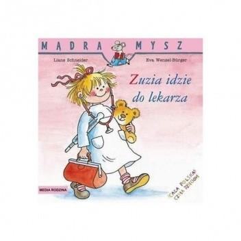 Okładka książki Zuzia idzie do lekarza
