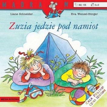 Okładka książki Zuzia jedzie pod namiot