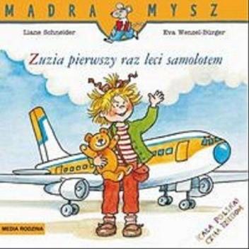 Okładka książki Zuzia pierwszy raz leci samolotem