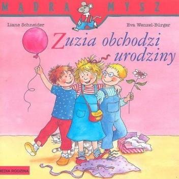 Okładka książki Zuzia obchodzi urodziny