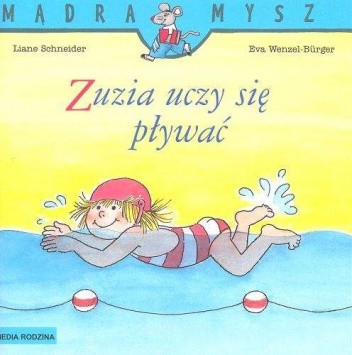 Okładka książki Zuzia uczy się pływać