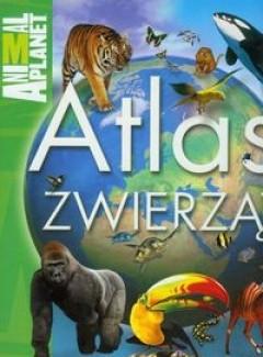 Okładka książki Atlas zwierząt