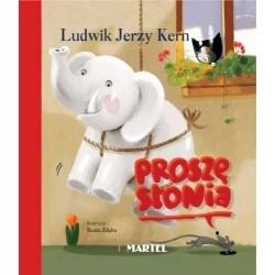 Okładka książki Proszę słonia