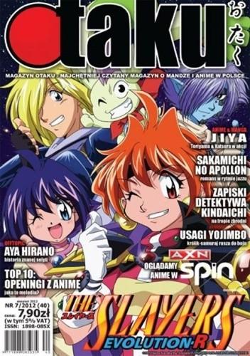 Okładka książki Otaku numer 40 (sierpień 2012)