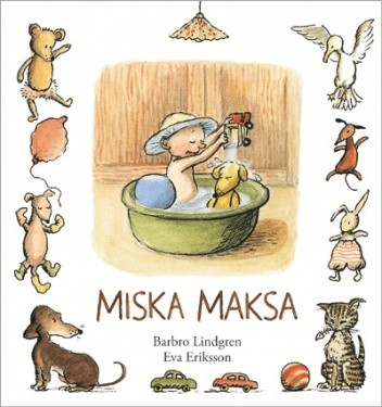 Okładka książki Miska Maksa