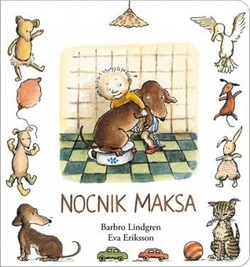 Okładka książki Nocnik Maksa
