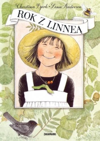 Okładka książki Rok z Linneą