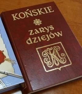 Okładka książki Końskie. Zarys dziejów
