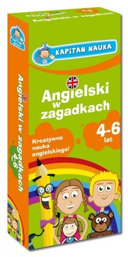 Okładka książki Angielski w zagadkach 4-6 lat