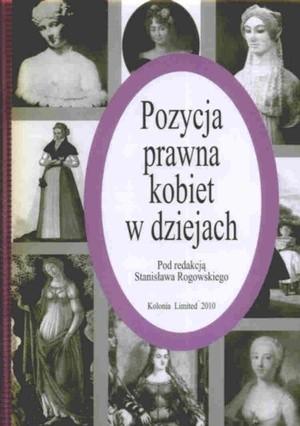 Okładka książki Pozycja prawna kobiet w dziejach