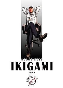 Okładka książki Ikigami #8
