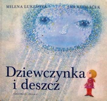 Okładka książki Dziewczynka i deszcz