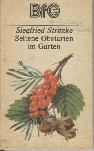 Okładka książki Seltene Obstarten im Garten