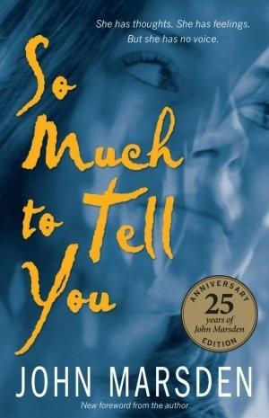 Okładka książki So much to tell you