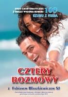 Okładka książki Cztery rozmowy z Fabianem Błaszkiewiczem SJ