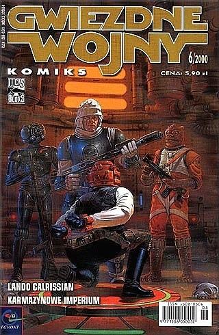 Okładka książki Gwiezdne Wojny Komiks 6/2000