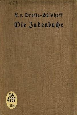 Okładka książki Die Judenbuche