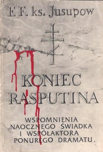 Okładka książki Koniec Rasputina
