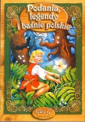 Okładka książki Podania legendy i baśnie polskie