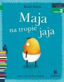 Okładka książki Maja na tropie jaja