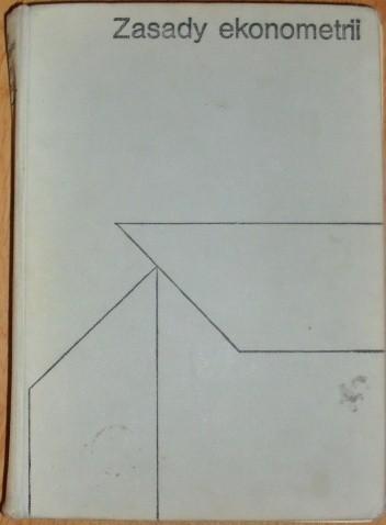 Okładka książki Zasady ekonometrii