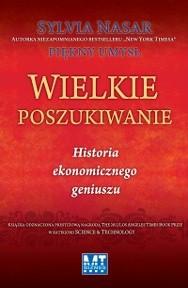 Okładka książki Wielkie poszukiwanie. Historia ekonomicznego geniuszu