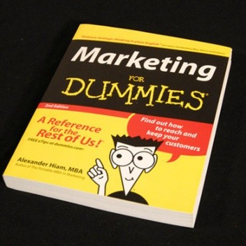 Okładka książki MARKETING FOR DUMMIES