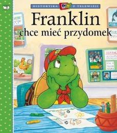 Okładka książki Franklin chce mieć przydomek