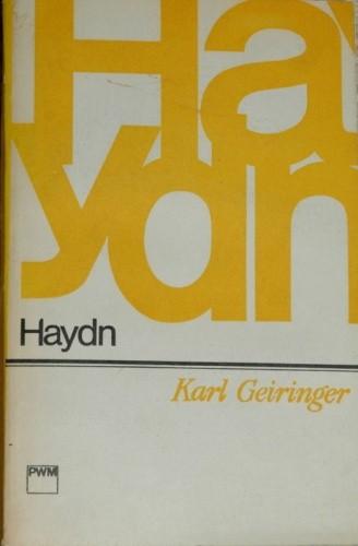 Okładka książki Haydn