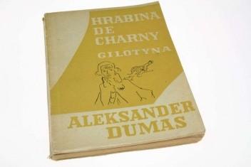 Okładka książki Hrabina de Charny.  Gilotyna tom 2