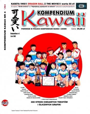 Okładka książki Kompendium Kawaii nr 4