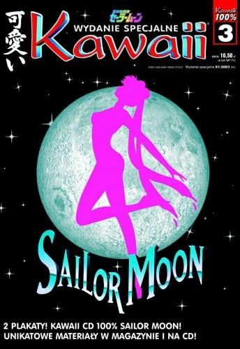 Okładka książki Kawaii Numer specjalny 100% Sailor Moon